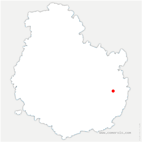 carte de localisation de Cirey-lès-Pontailler