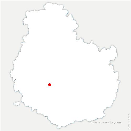 carte de localisation de Civry-en-Montagne