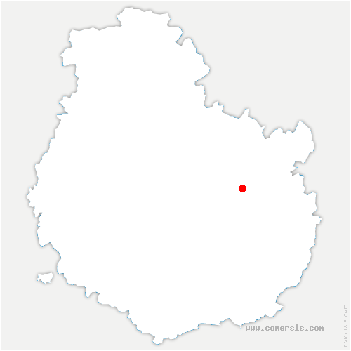 carte de localisation de Clénay