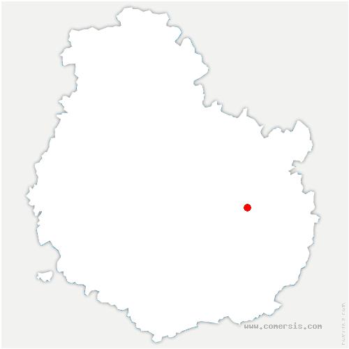 carte de localisation de Couternon