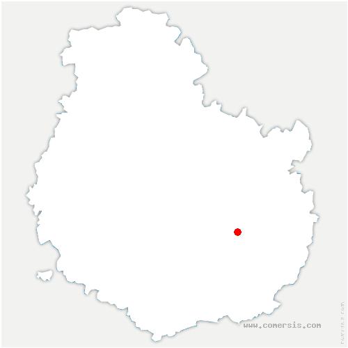 carte de localisation de Crimolois