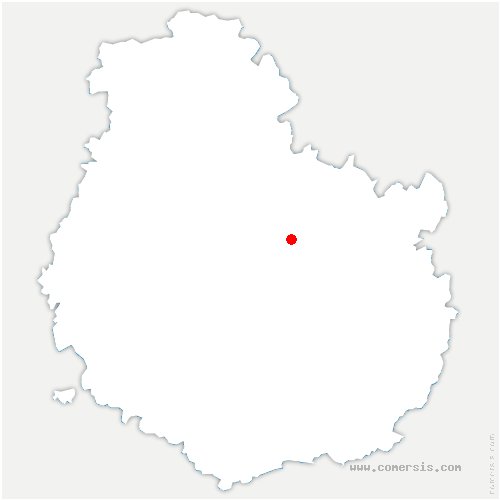 carte de localisation de Curtil-Saint-Seine