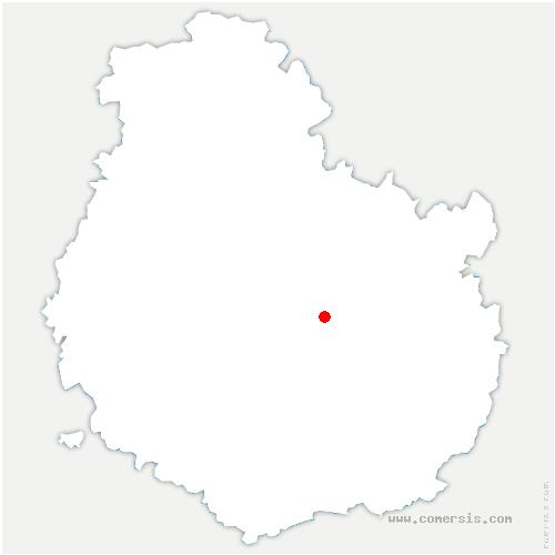 carte de localisation de Daix