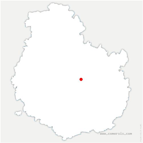 carte de localisation de Darois