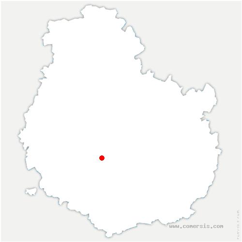 carte de localisation de Échannay