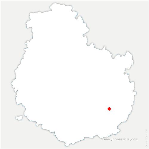 carte de localisation de Échigey