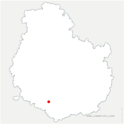 carte de localisation de Écutigny