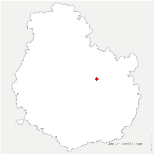 carte de localisation de Épagny