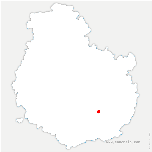 carte de localisation de Épernay-sous-Gevrey