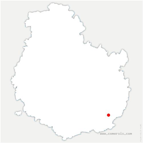 carte de localisation de Esbarres