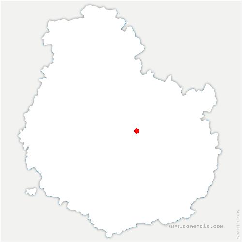 carte de localisation de Étaules