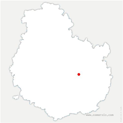 carte de localisation de Fontaine-lès-Dijon