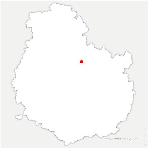 carte de localisation de Frénois