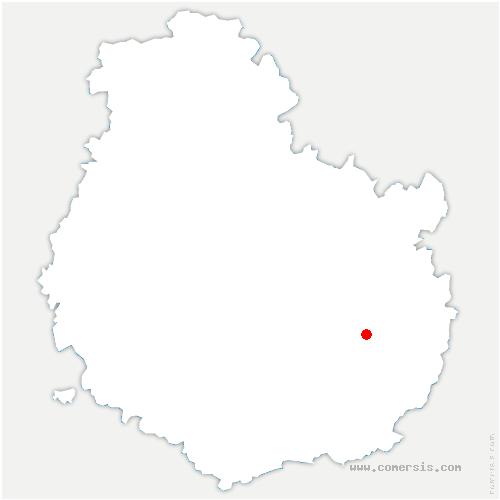 carte de localisation de Genlis