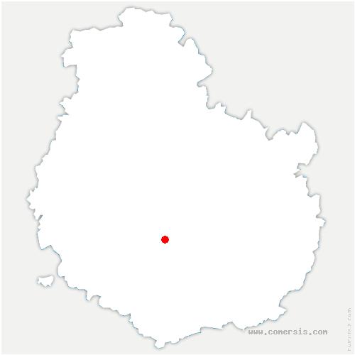 carte de localisation de Grenant-lès-Sombernon
