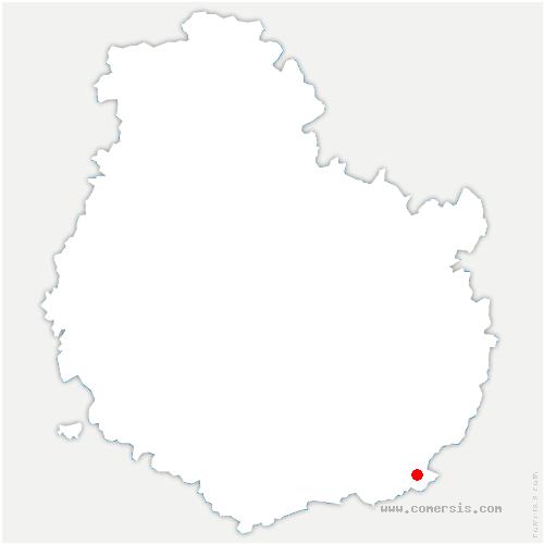 carte de localisation de Grosbois-lès-Tichey