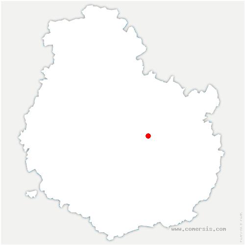 carte de localisation de Hauteville-lès-Dijon