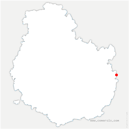 carte de localisation de Heuilley-sur-Saône