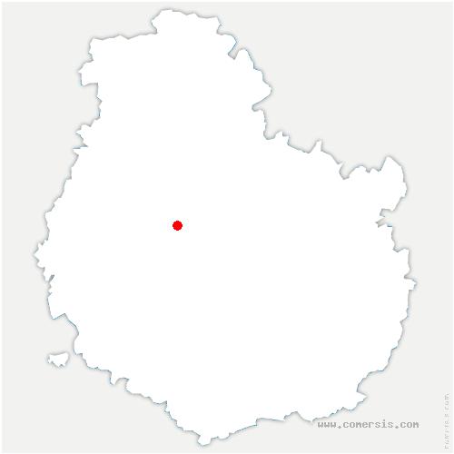 carte de localisation de Jailly-les-Moulins