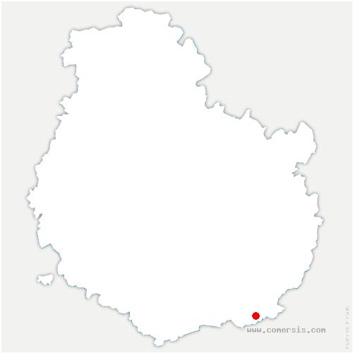 carte de localisation de Jallanges