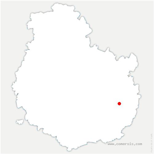 carte de localisation de Labergement-Foigney
