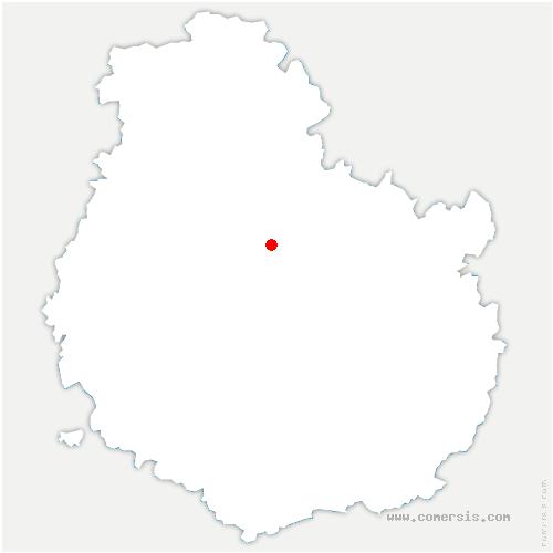 carte de localisation de Lamargelle