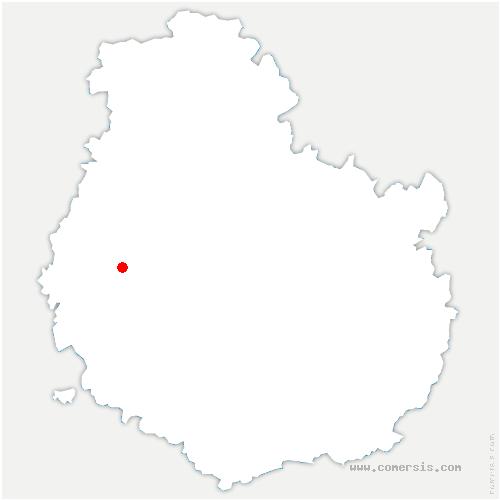 carte de localisation de Le Val-Larrey