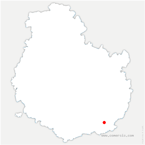 carte de localisation de Lechâtelet
