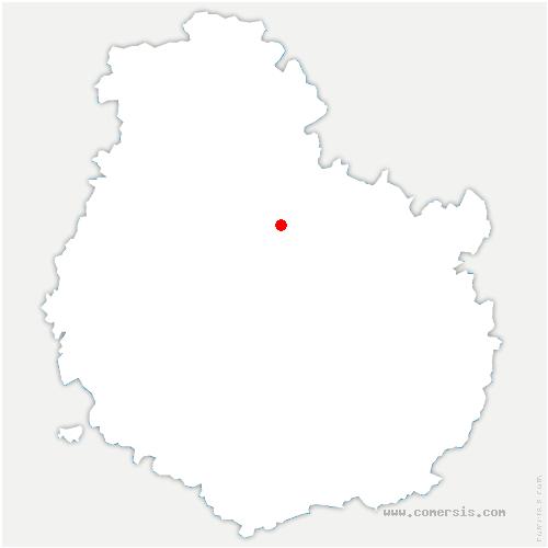 carte de localisation de Léry