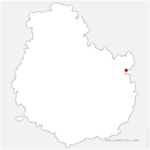 carte de localisation de Licey-sur-Vingeanne