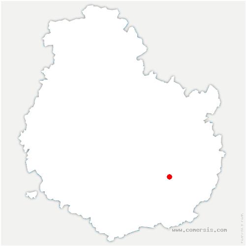 carte de localisation de Longecourt-en-Plaine