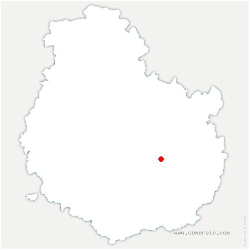 carte de localisation de Longvic