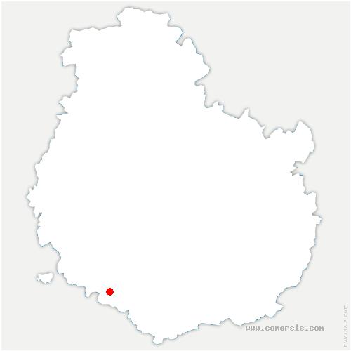 carte de localisation de Maligny