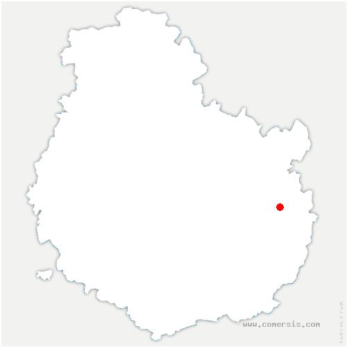 carte de localisation de Marandeuil