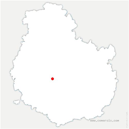 carte de localisation de Marcellois