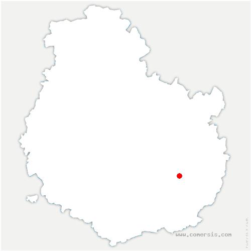 carte de localisation de Marliens