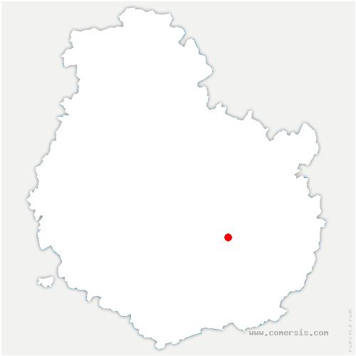 carte de localisation de Marsannay-la-Côte