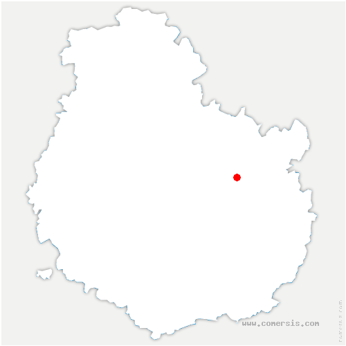 carte de localisation de Marsannay-le-Bois