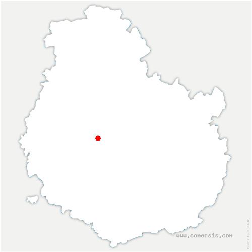 carte de localisation de Massingy-lès-Vitteaux