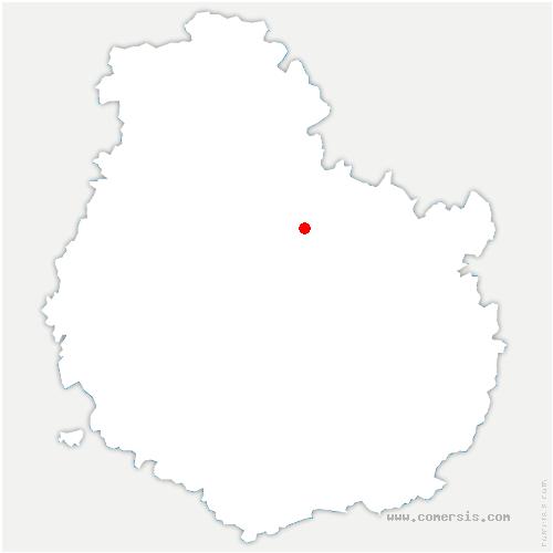 carte de localisation de Moloy