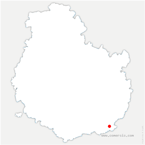 carte de localisation de Montagny-lès-Seurre