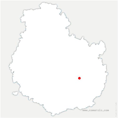 carte de localisation de Ouges