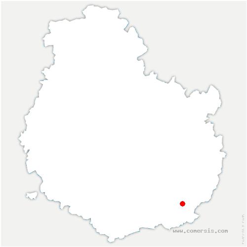 carte de localisation de Pagny-le-Château