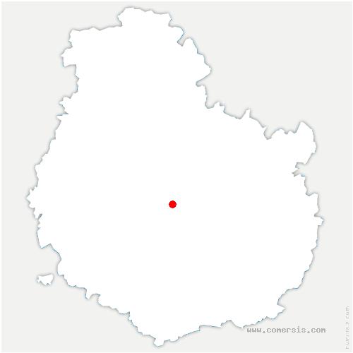 carte de localisation de Panges