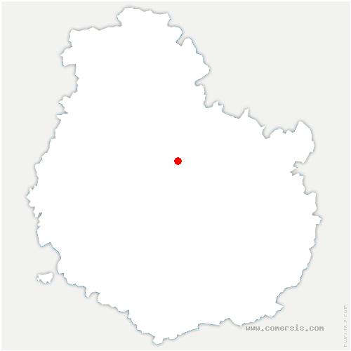 carte de localisation de Pellerey