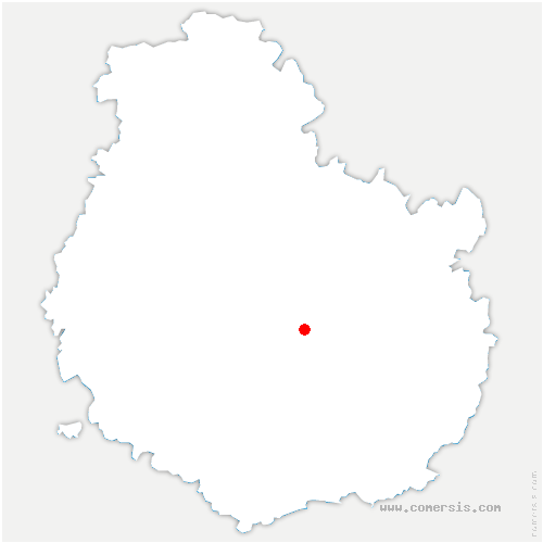 carte de localisation de Plombières-lès-Dijon