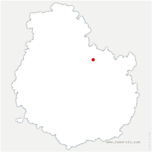 carte de localisation de Poiseul-lès-Saulx