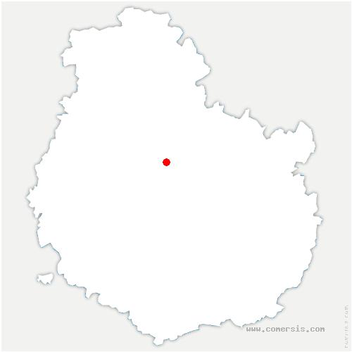 carte de localisation de Poncey-sur-l'Ignon