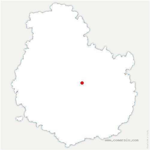 carte de localisation de Prenois