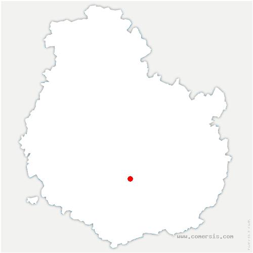 carte de localisation de Quemigny-Poisot